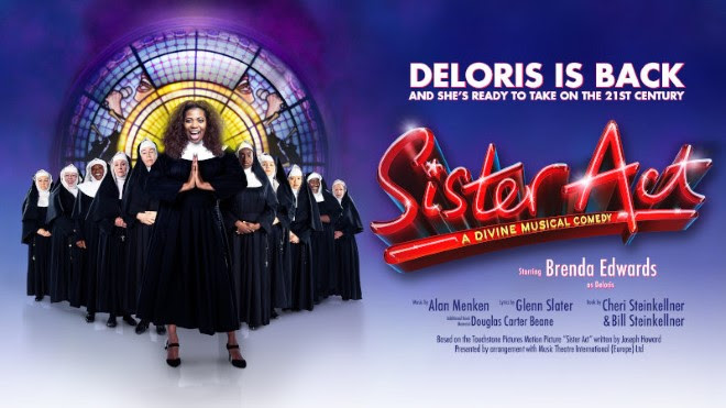 ⭐ New on sale ⭐ SISTER ACT comes to the Hippodrome in November!
