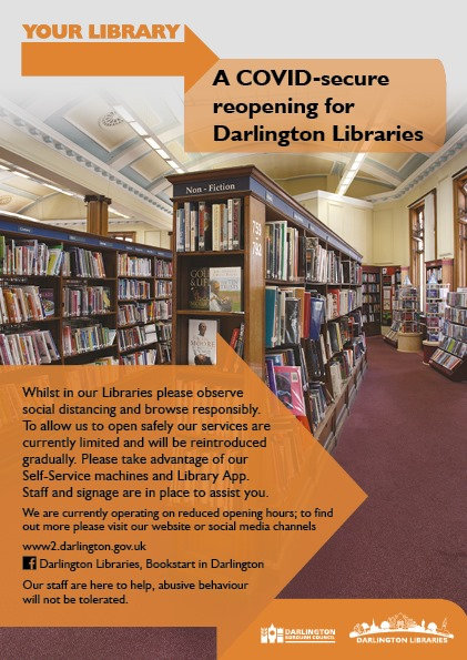 Darlington library to open