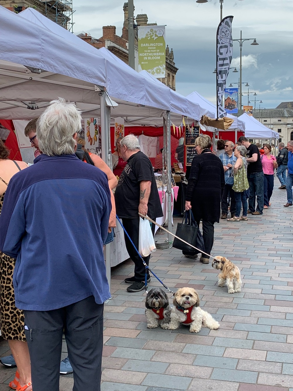 Darlington Market looks forward to re-opening the full market and the Outdoor Market will return to the Square